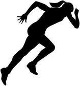 start girl runner sprint