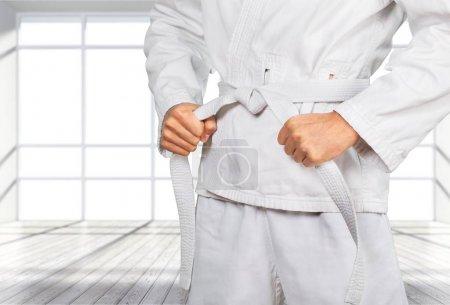Man in white kimono