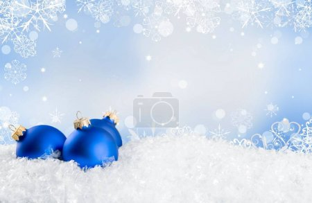 Photo for Beautiful  Christmas balls   on white background - Royalty Free Image