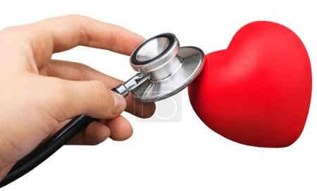 Medical Stethoscope with plastic Heart