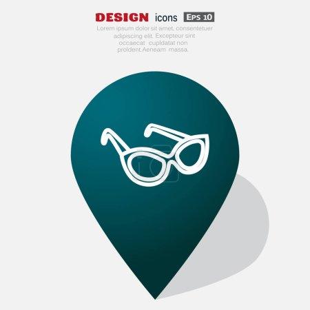 glasses web icon