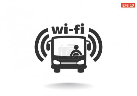 Wi-Fi in bus sign