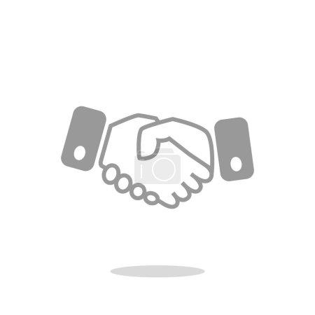 Handshake icon web icon