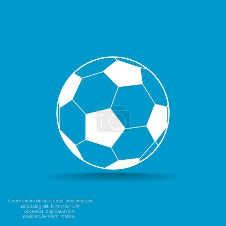 Soccer ball web icon