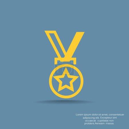 Medal web icon