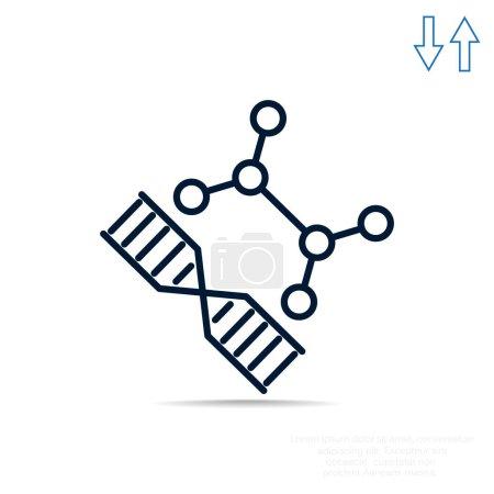 DNA web icon