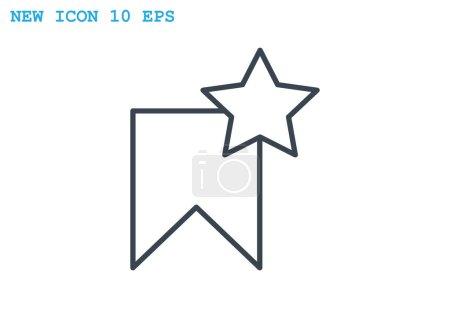 Star label web icon