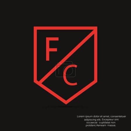 football emblem icon