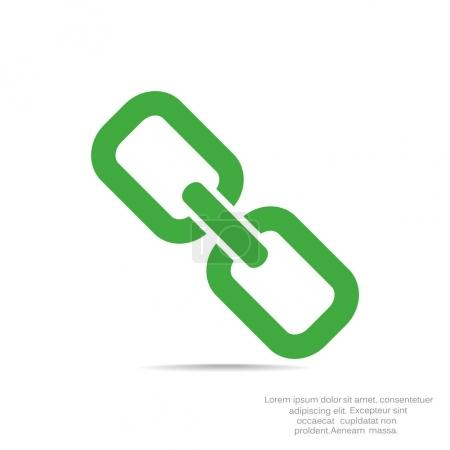Simple chain icon