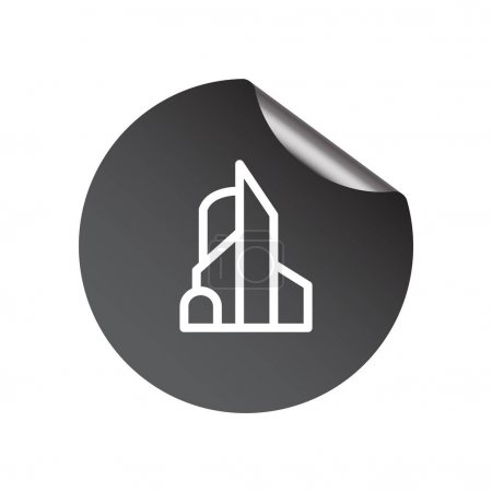 Office building web icon