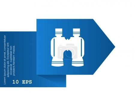 binocular web icon