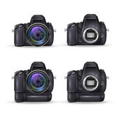 Realistic digital cameras