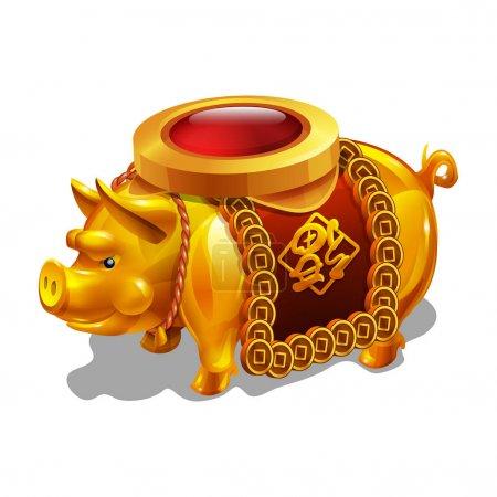 Chinese Pig figurine.