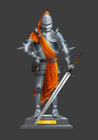 Armor ancient knight