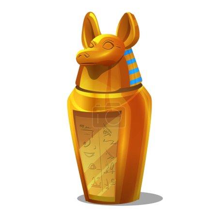 Egyptian Anubis figurine