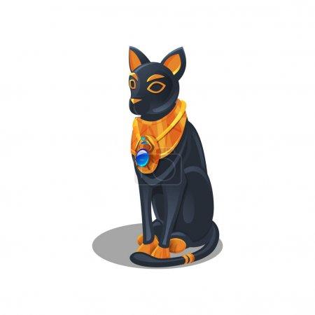 Egyptian cat figurine