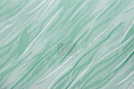 light green Fabric blind curtain texture background