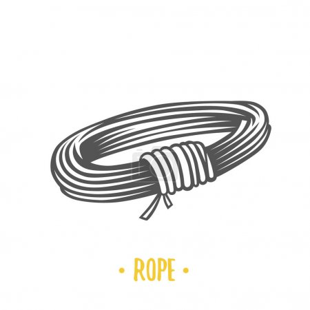 Illustration of rope