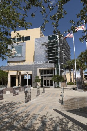 The Tampa Bay History Center building. Tampa Fl USA