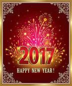 Pohlednice šťastný nový rok 2017