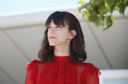 Stacy Martin attends the 'Redoubtable (Le Redoutable)'