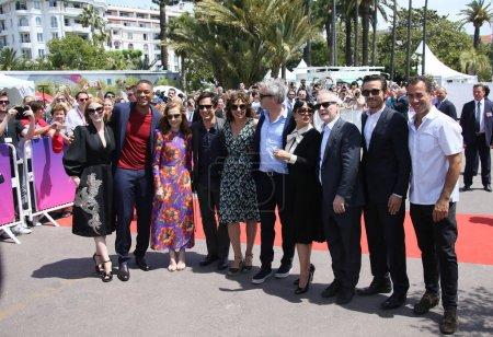Salma Hayek, Valeria Golino, Alfonso Cuaron, Thier...