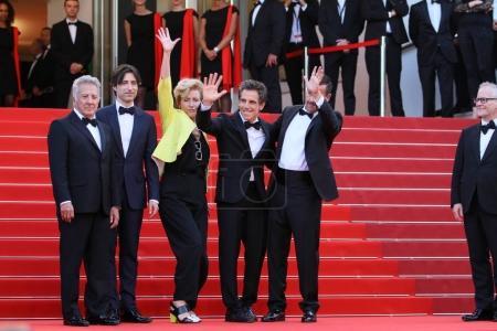 Emma Thompson, Ben Stiller, Dustin Hoffman, Noah Baumbach & Adam