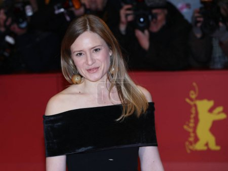 Julia Jentsch poses on the red carpet