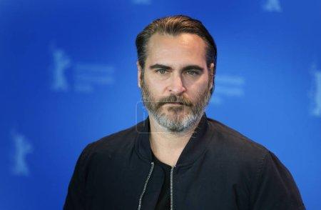 Joaquin Phoenix poses at the