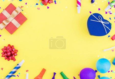 Colorful celebration pattern