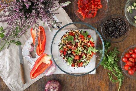 Summer Vegetarian Salad