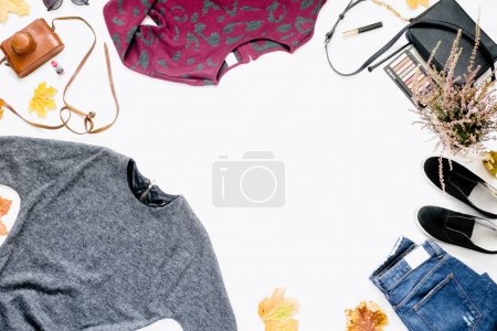 Female autumn clothes