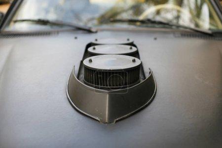 Details of a german Mercedes