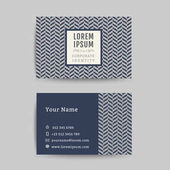 Business card art deco design template art deco pattern background