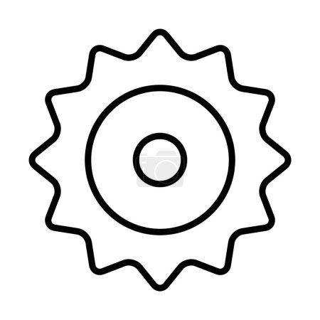 Gear simple icon