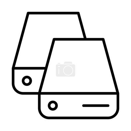 database icon illustration