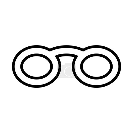 simple glasses icon