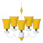 Lamp web icon