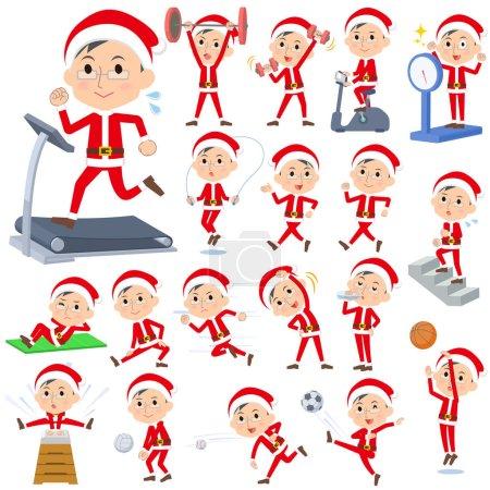 Santa Claus Costume dad_Sports & exercise