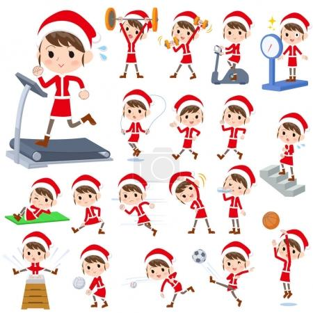 Santa Claus Costume mom_Sports & exercise
