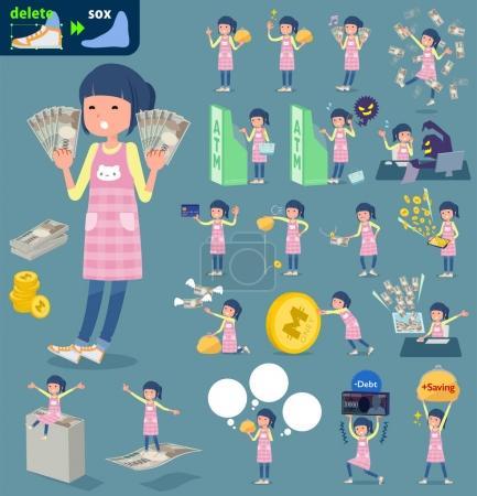 flat type Childminder women_money