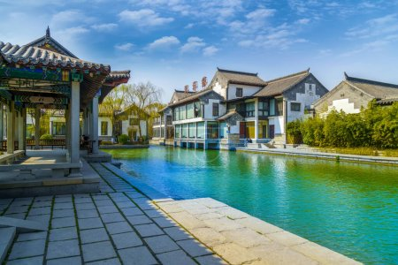 Photo for Jinan Daming Lake in China, Asia - Royalty Free Image
