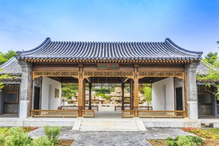 Photo for Beijing quadrangle in China, Asia - Royalty Free Image