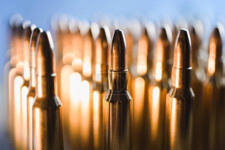 metal bullets cartridge