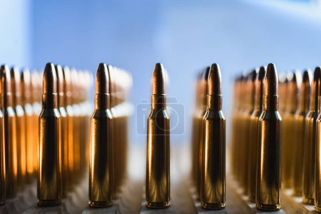 close-up photo of bullets