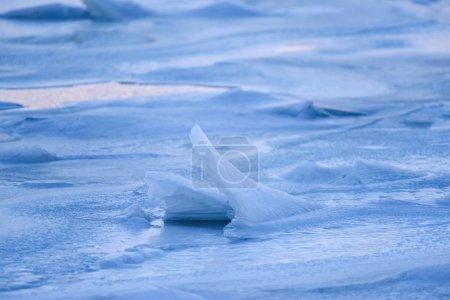 Photo pour Surface de glace de l'océan Arctique gros plan - image libre de droit