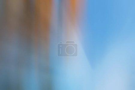 Photo pour Objets de lignes jaunes et oranges abstrait floue - image libre de droit