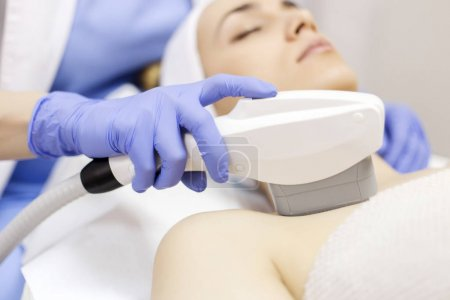 Anti-aging treatment, IPL laser, photo skin therapy
