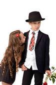 conflicts between children. quarrels and offense