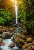 Casaroro waterfall, Philippines. Valencia, island Negros.